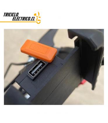 Eje Trasero Triciclo Electrico con Piñones